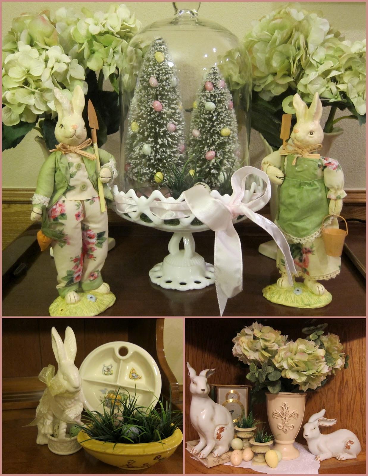 Ladybug Creek: Easter Decorating - Done!