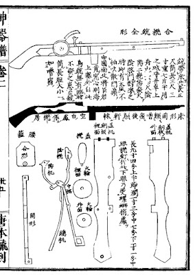 Ming Chinese Weather-proofed Matchlock Arquebus