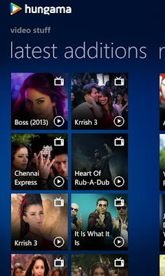 Hungama for Windows Phone