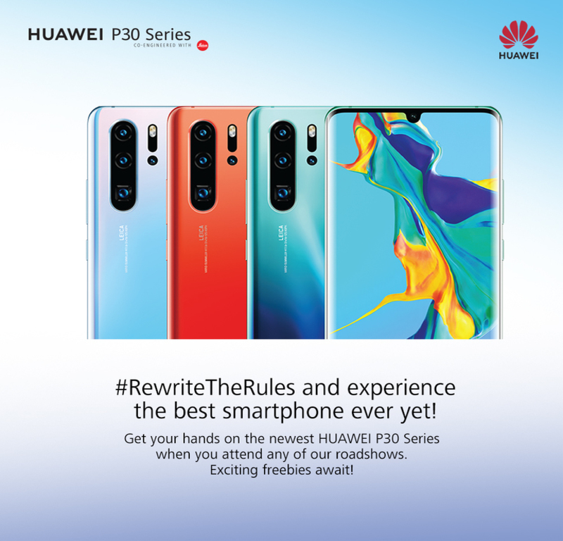 Huawei begins roadshows for P30 series