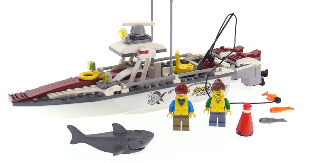 Lego city 2017 fishing boat review 60147 for Fishing lego set