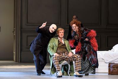 Strauss: Der Rosenkavalier - Peter Van Hulle, Brindley Sherratt, Madeleine Shaw - WNO 2017 (photo Bill Cooper)
