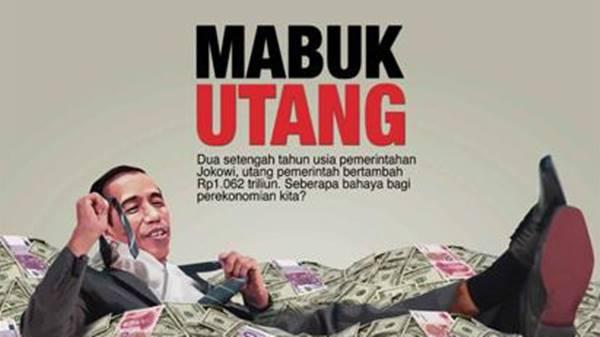 Pembengkakan Utang dan 'Bom Pencitraan' di Akhir Pemerintahan Jokowi