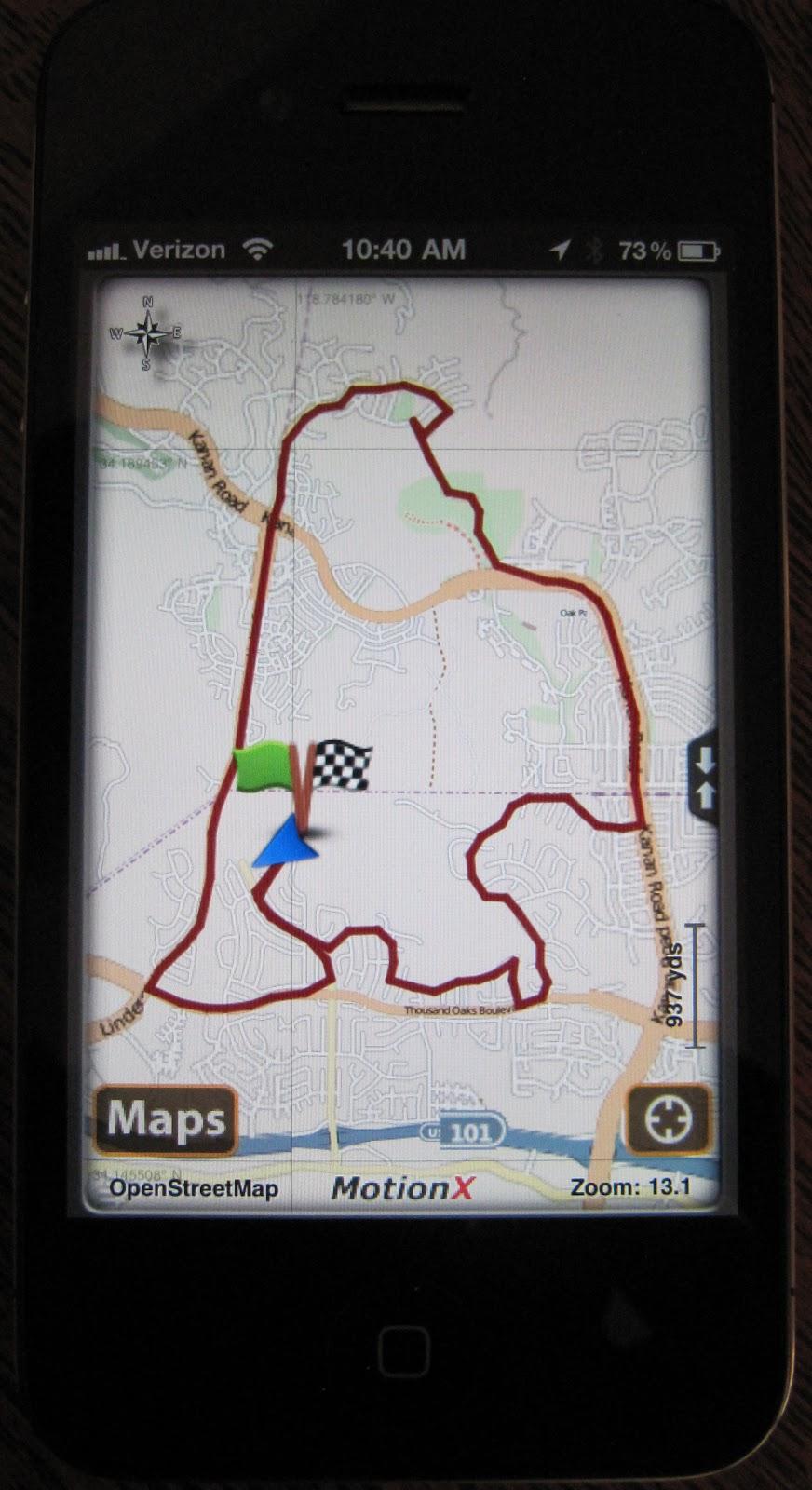 Crazy On Three: iPhone GPS