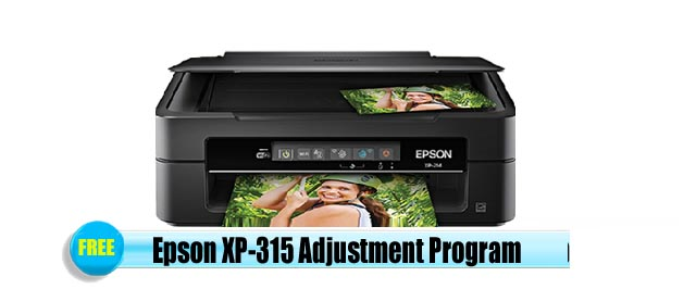 Epson  XP-315 Adjustment Program