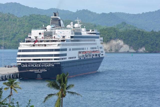 Kapal Pesiar MS Pacific Eden Kembali Singgah di Sabang