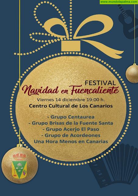 Fuencaliente  celebra esta tarde el festival 'Navidad en Fuencaliente'