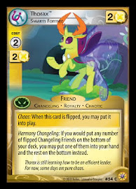 My Little Pony Thorax, Swarm Former Friends Forever CCG Card