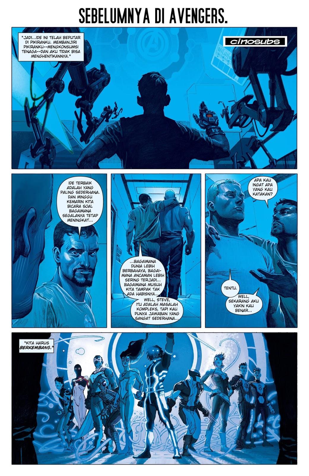 komik the avengers 5 2012  komik pos  baca komik