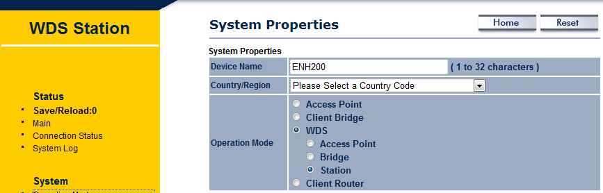 Go Wireless NZ Blog: EnGenius ENH Series WDS bridging Setup