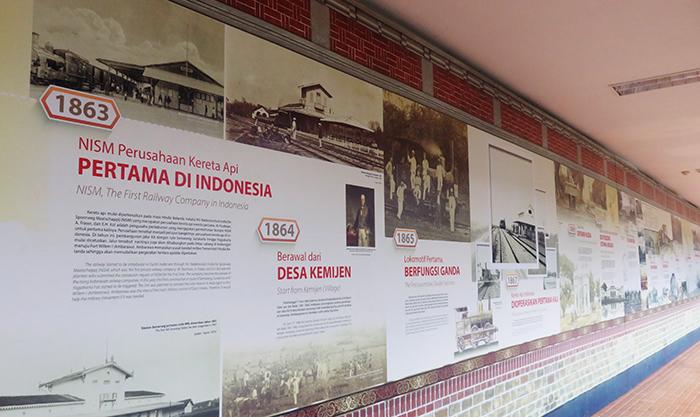 Lini Masa Sejarah Perkeretaapian di Indonesia