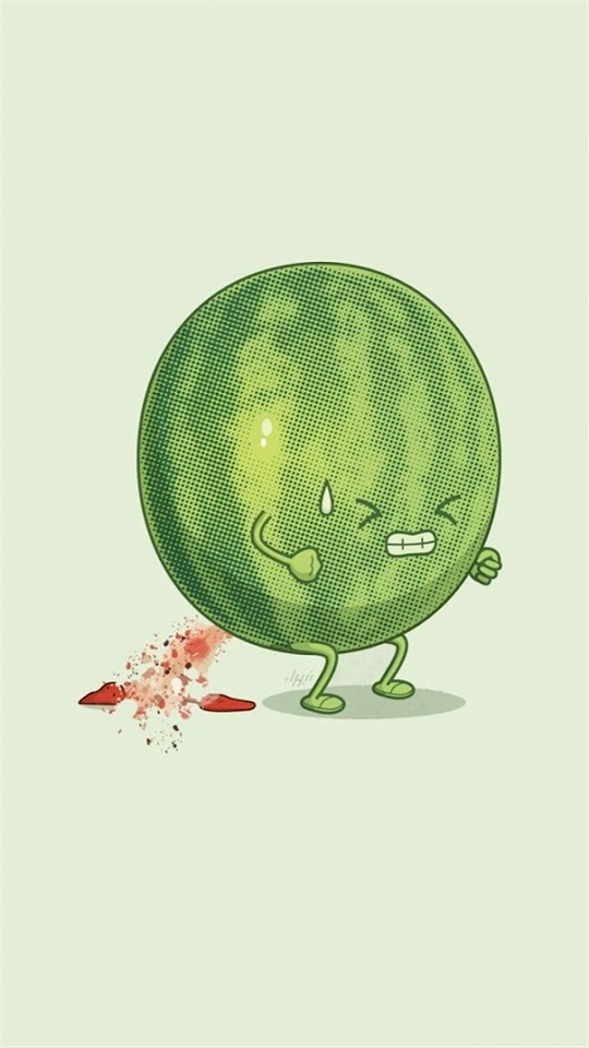 Funny Watermelon   Galaxy Note HD Wallpaper