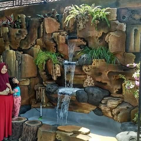 Jasa Pembuatan Dekorasi Relief Taman Tebing Lamongan Tukang Taman Lamongan