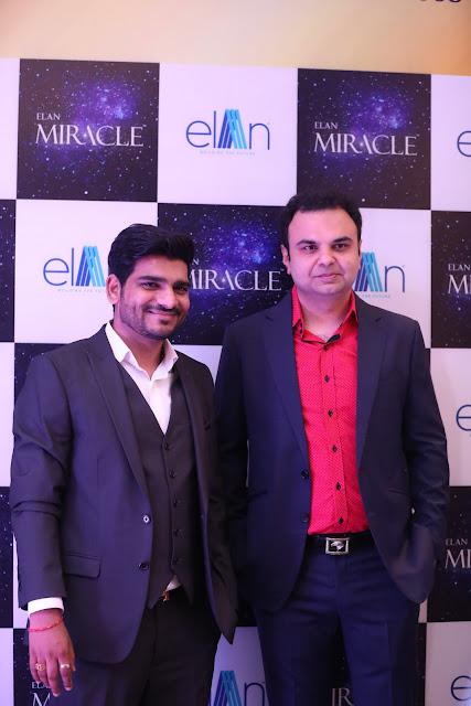 Elan Group Exclusively Showcased -Elan Miracle with Nargis Fakri