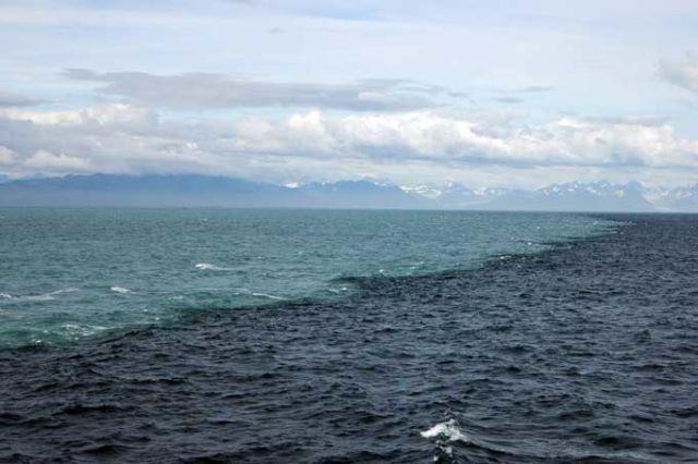 Fakta Kebenaran Al Qur`an : Pertemuan Dua Lautan Yang Tak Pernah Menyatu