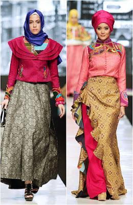 Baju Muslimah Brokat Dian Pelangi
