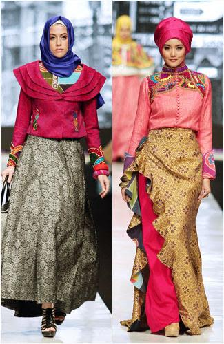 Model Kebaya Hijab Dian Pelangi Modern Terbaru