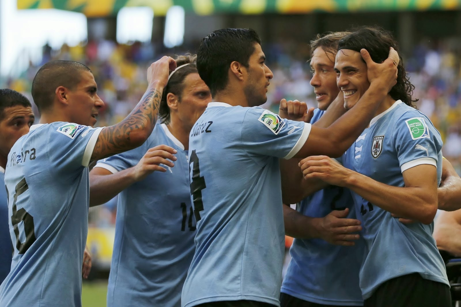 Luis Suarez Cavani Watch Uruguay live online. World Cup Brazil 2014 games free streaming. Best websites for football matches without signing up.