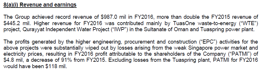 The Accounting for Hyflux's Water Treatment Plants - The