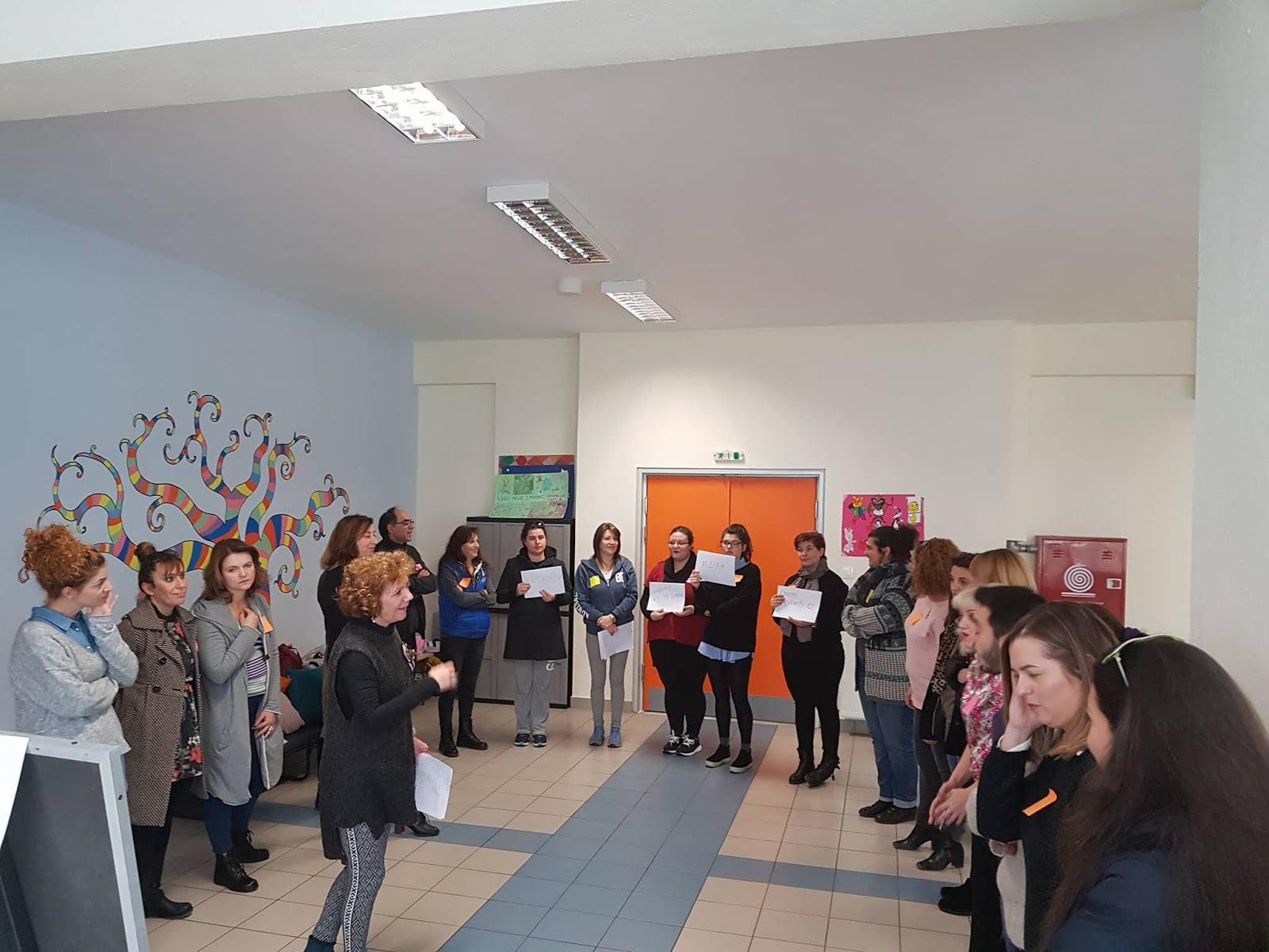 Το προσωπικό των ΚΔΑΠ και ΚΔΑΠΜΕΑ του Δήμου Λαρισαίων γνωρίζει το Κοινωνιόδραμα (ΦΩΤΟ)