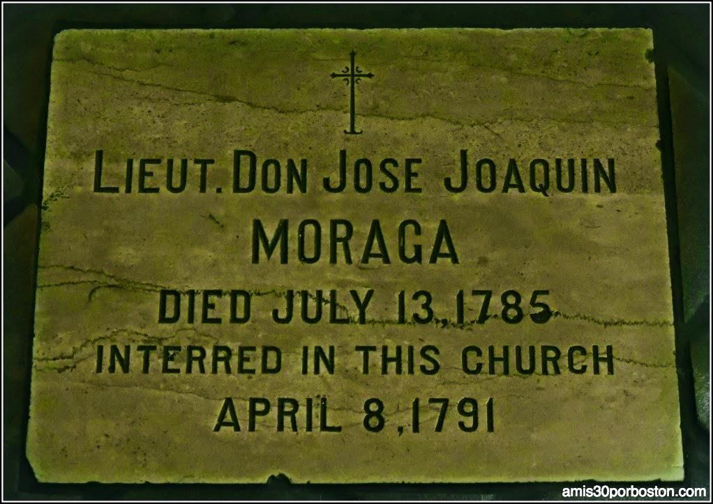 Tumba José Joaquin Moraga en la Misión Dolores, San Francisco