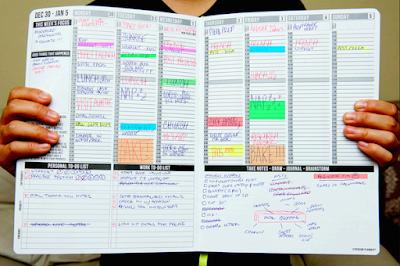 lập kế hoạch công việc trong ngày