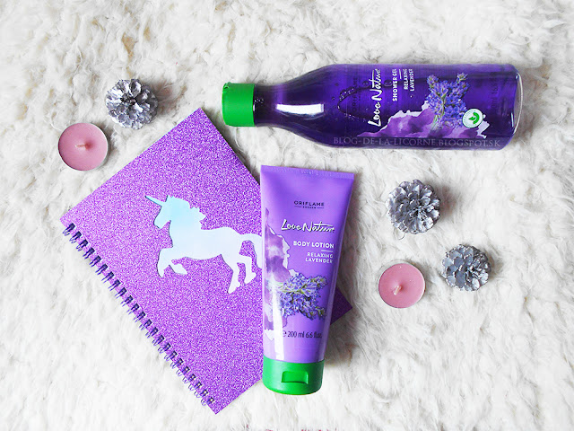 Oriflame Love Nature Relaxing Lavender recenzia
