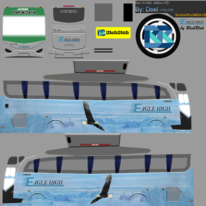 Bussid Eagle HD Jb