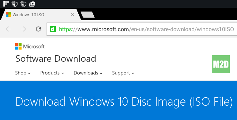 Windows 10 ISO Direct Link