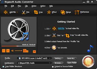 تنزيل برنامج محول الصوتيات Bigasoft Audio Converter