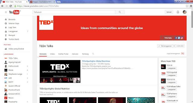 Menikmati TedX dengan Cara Berbeda