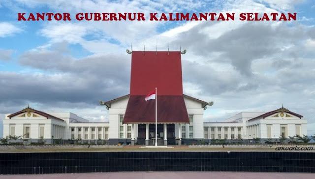 foto kantor gubernur kalimantan selatan