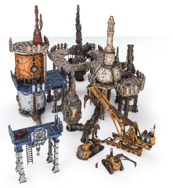 Sector Mechanicus 40k