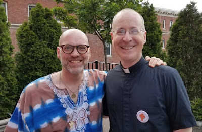 LGBT Jesuit and friend