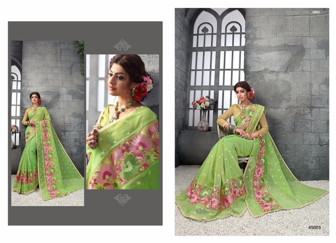 FLORA COTTON – New Arrival Designer Cotton Printed Saree
