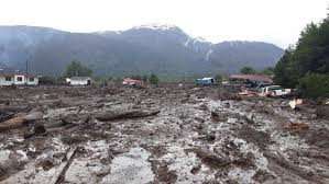 Landslide destroys village