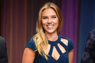 Could you Guess what happens Scarlett Johansson Have scored on her SATs?