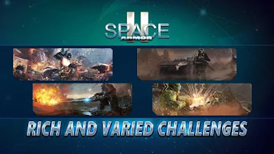 Download Space Armor 2 v1.2.5 MOD APK + DATA Hack Unlimited Money / Ammo Update Terbaru 2018