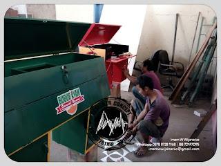 proses produksi gerobak motor