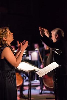 Anna Huntley, Michael Collins & City of London Sinfonia - CLoSer at Village Underground - photo James Berry