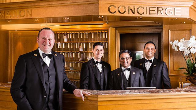 Serviço de concierge em Las Vegas