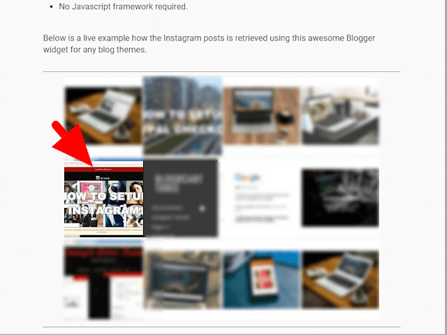 New Instagram Widget for Blogs on Blogger Templates