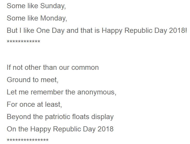 Reuplic day fb status in hindi