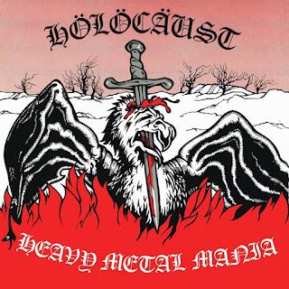 "Το single των Holocaust ""Heavy Metal Mania"""