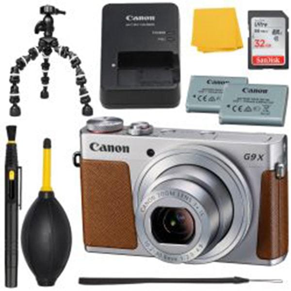 Canon G9 X Digital Camera Silver +MORE