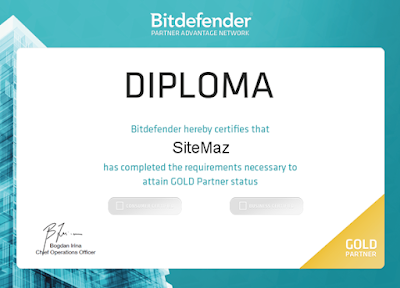 Bitdefender Gold Partner Bangladesh - SiteMaz.com