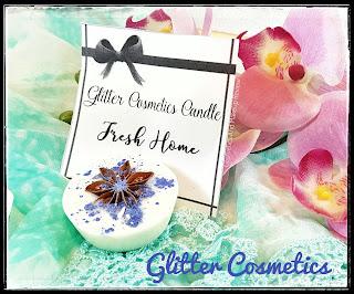 Fresh Home - Glitter Cosmetics Candle