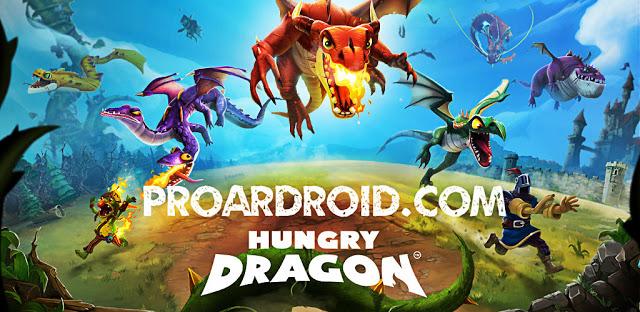 تحميل لعبة Hungry Dragon v2.2 مهكرة للأندرويد (اخر اصدار) logo