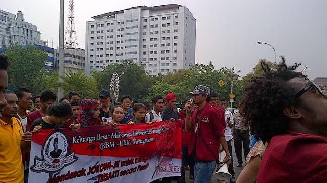 Mahasiswa UBK dan Mercu Buana Siap Turun ke Jalan Pekan Depan
