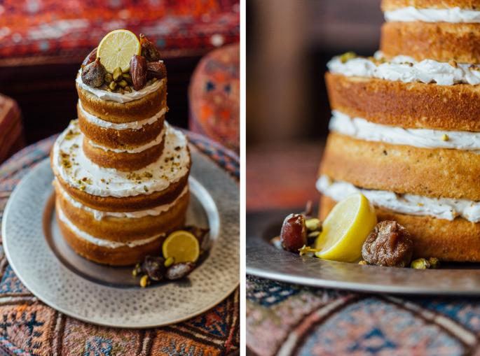 Kacie Q. Photography / Cake: Sweet Pea Bakery / Styling + Flowers: Katalin Green